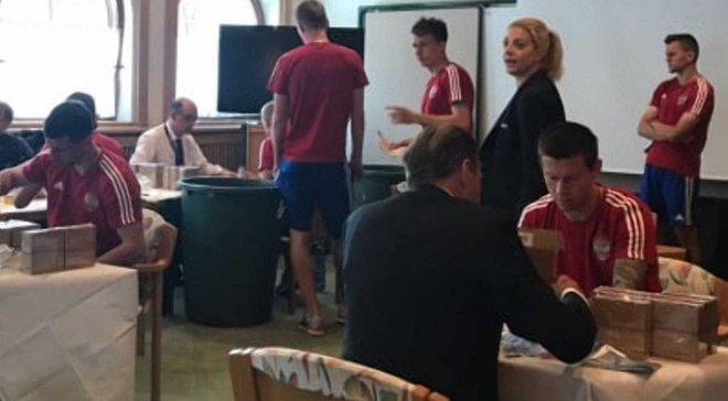 ЧС-2018: збірну Росії перевірили на допінг