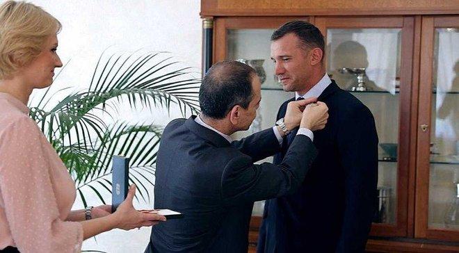 Шевченко получил орден Звезды Италии