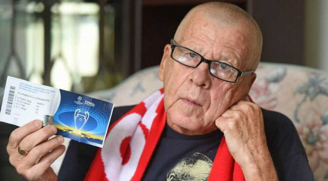 Реал – Ліверпуль: 75-річний суперфан англійців не потрапить на матч попри наявність квитка – зворушлива історія