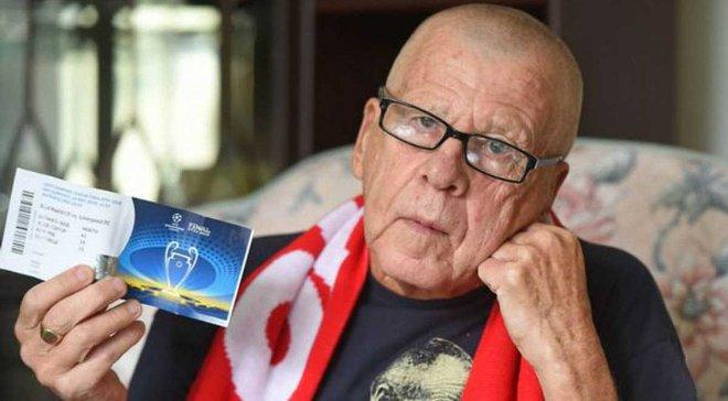 Реал – Ливерпуль: 75-летний суперфан англичан не попадет на матч, несмотря на наличие билета – трогательная история