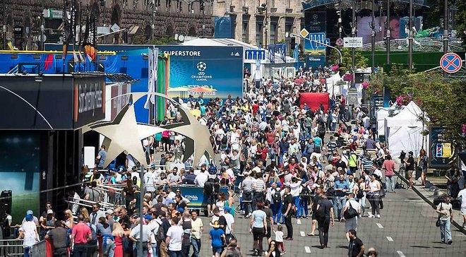 Финал Лиги чемпионов в Киеве: полиция задержала россиянина и уроженца Донецка, которые украли билеты на матч