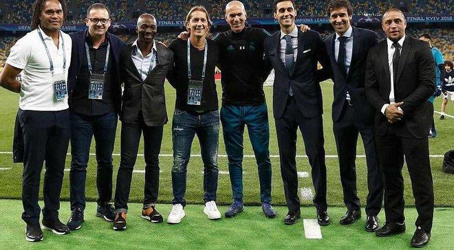 Финал Лиги чемпионов в Киеве: 5 экс-звезд Реала появились в фан-зоне и эмоционально подогрели атмосферу