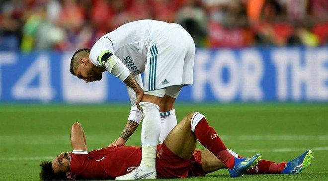 Реал – Ліверпуль: Салах покинув поле через травму плеча