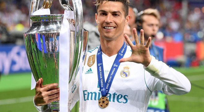Роналду предложил переименовать Лигу чемпионов