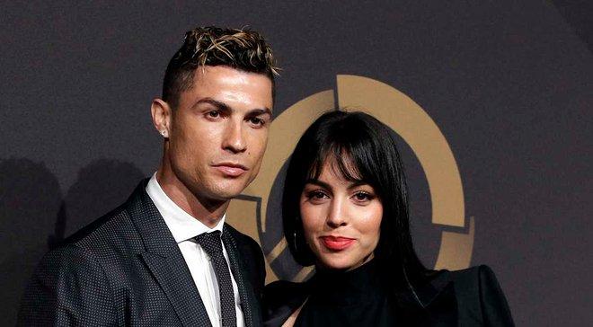Роналду получил роскошное поздравления от своей невесты