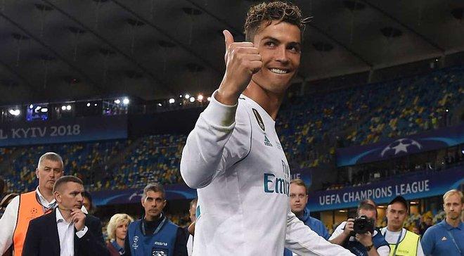 Роналду – первый футболист, который выиграл 100 матчей в Лиге чемпионов