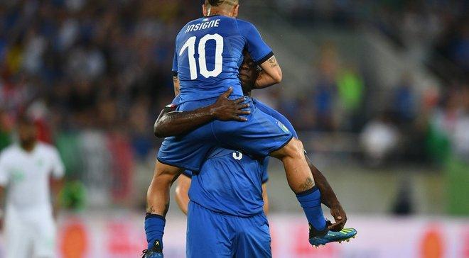 Товариські матчі: Італія розібралася із Саудівською Аравією, Португалія втратила перемогу над Тунісом