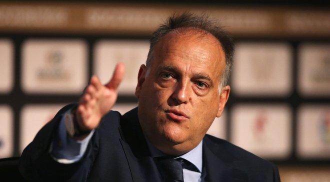 Президент Ла Лиги Тебас: Уход Роналду 5 лет назад меня бы взволновал