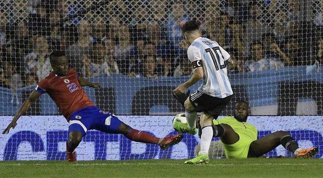 Аргентина розгромила Гаїті завдяки хет-трику Мессі