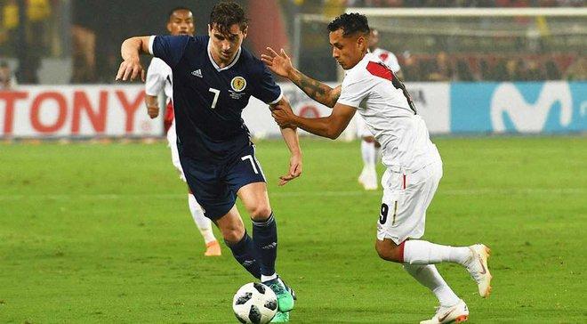 Товарищеские матчи: Перу победило Шотландию, Панама и Северная Ирландия разошлись миром