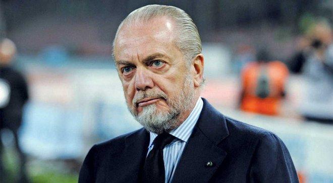 Де Лаурентис: Надеюсь, что Анчелотти останется в Наполи на 10 лет