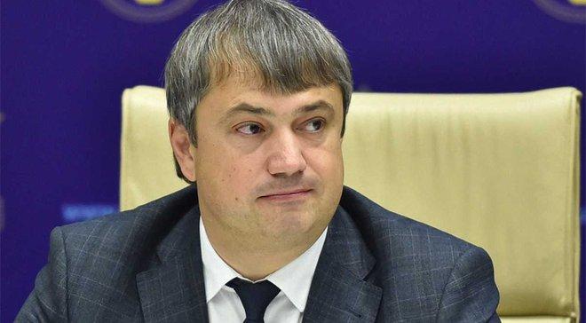 Костюченко: ФФУ вже працює над участю України в конкурсах на проведення фіналу ЛЄ та Суперкубку УЄФА