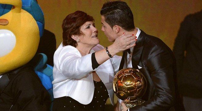 Мати Роналду зізналася, у якому клубі хоче побачити сина