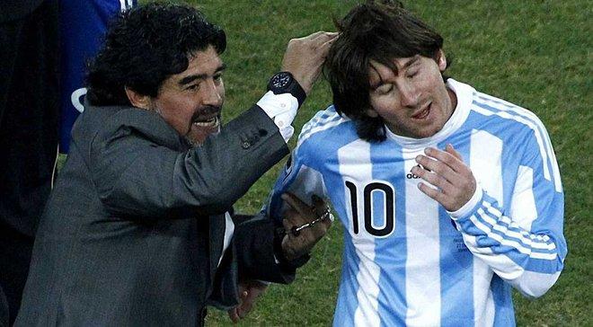 Марадона: Все, що зараз робить Мессі, я зробив раніше за нього