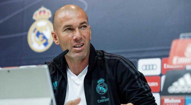 """Зідан збирає позапланову прес-конференцію – в Іспанії очікують на """"бомбу"""""""