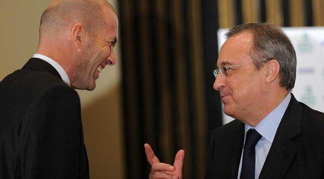 Перес поблагодарил Зидана за работу и надеется на его возвращение в Реал