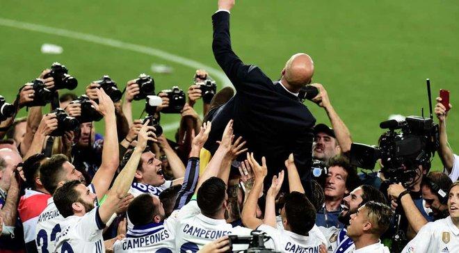 Игроки Реала считали, что Зидан на пресс-конференции объявит о продлении контракта