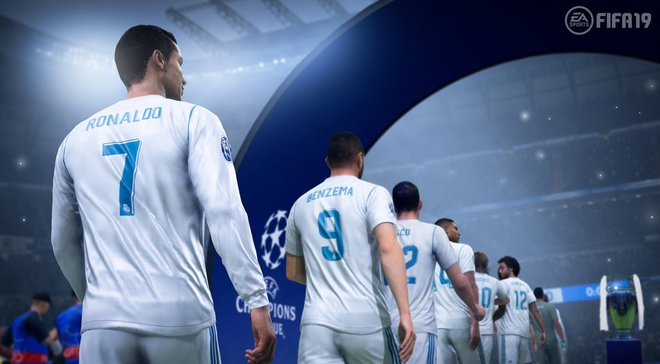 EA Sports подтвердил, что в FIFA 19 появится Лига чемпионов