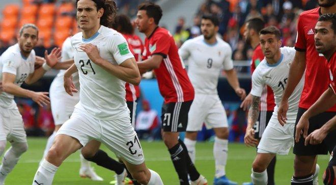 Египет – Уругвай – 0:1 – видео гола