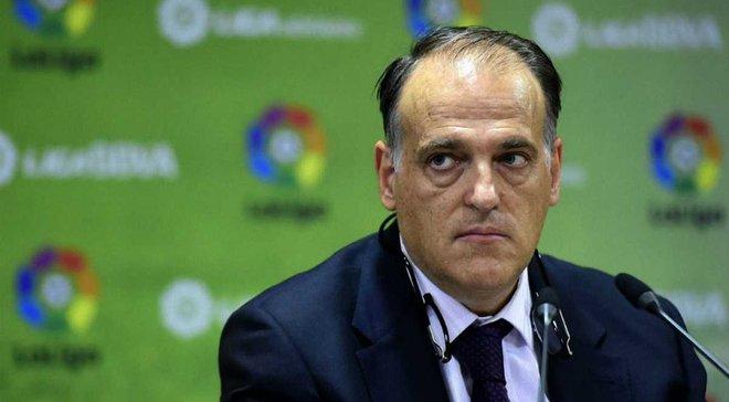 Президент Ла Лиги Тебас: Роналду останется в Реале, а Гризманн – в Атлетико