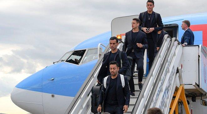 ЧС-2018: збірна Мексики прибула в Росію