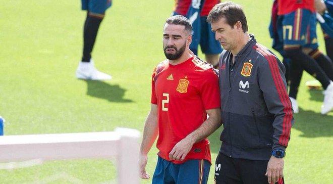 Карвахаль вернулся к тренировкам в основной группе сборной Испании