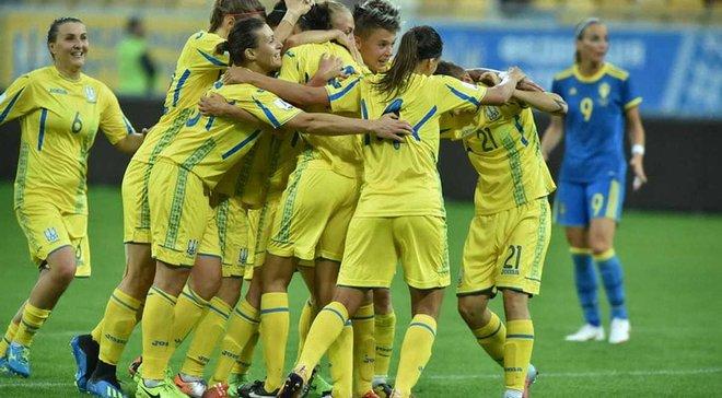 Жіноча збірна України сенсаційно обіграла Швецію