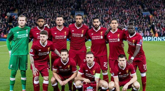 Футбольная команда ливерпуль откуда