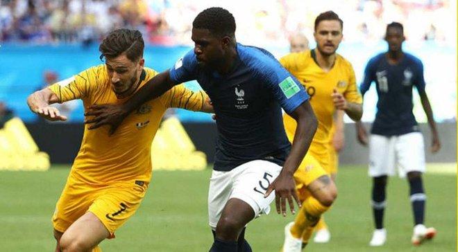 Франция – Австралия – 2:1 – видео голов и обзор матча
