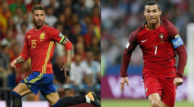 Смотреть онлайн видео товарищеского футбольного матча португалия- испания