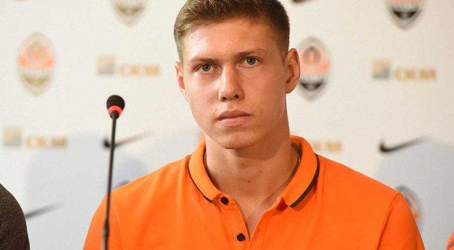 Матвієнко: В наступному сезоні хочу стати гравцем основи Шахтаря