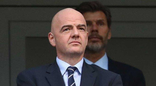 Инфантино снова будет баллотироваться на пост президента ФИФА