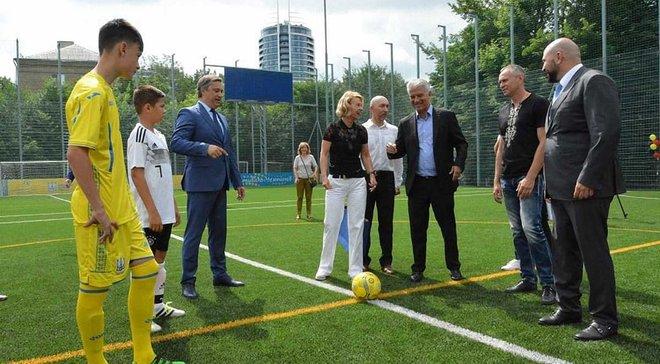 ФФУ та посольство Німеччини дали старт новому футбольному проекту