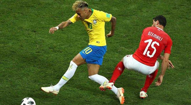 """ЧС-2018 Бразилія – Швейцарія: """"селесао"""" рано відпустили гру, а швейцарці – майстри трансформацій"""