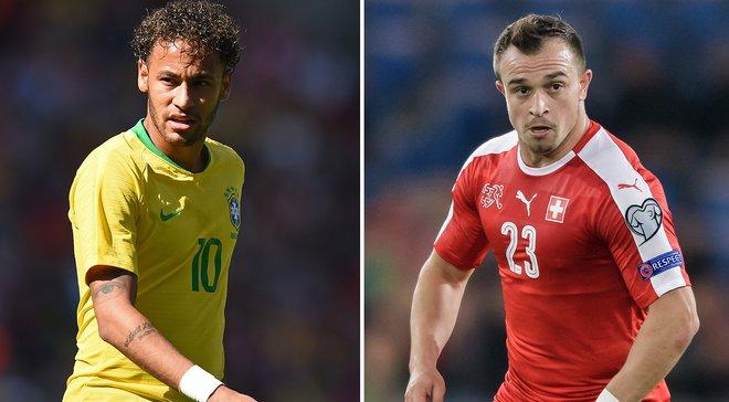 Бразилія – Швейцарія: онлайн-трансляція матчу ЧС-2018 – як це було