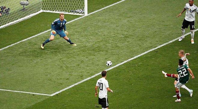 Германия – Мексика – 0:1 – видео гола и обзор матча