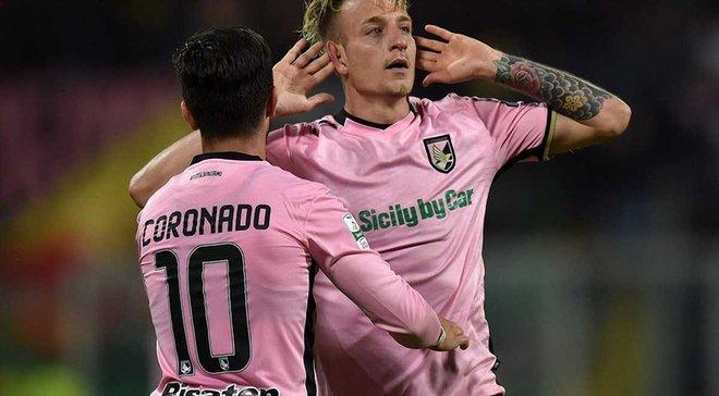 Палермо обіграв Фрозіноне в першому матчі фіналу плей-офф за вихід в Серію А