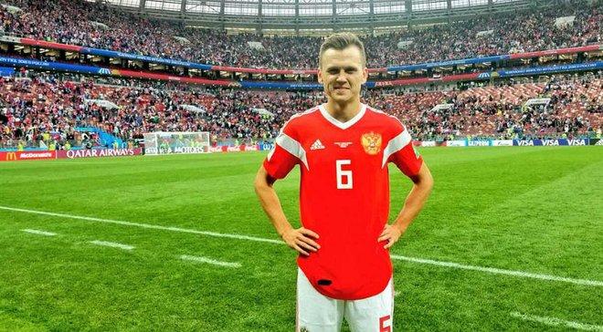 ЧС-2018: Черишев – перший гравець, який забив після виходу на заміну в матчі-відкритті турніру