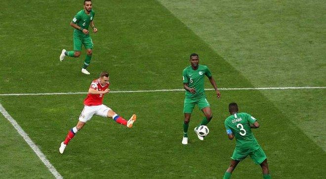 Россия – Саудовская Аравия: на матче присутствовали 78 тысяч зрителей