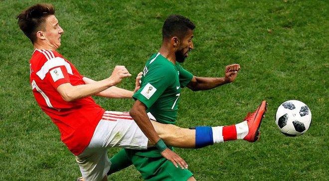 ЧС-2018: Саудівська Аравія судитиметься з телеканалом через симпатію до збірної Росії