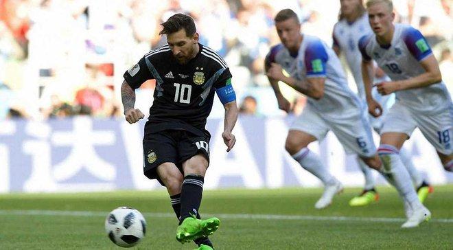 """ЧС-2018 Аргентина – Ісландія: провал Мессі, дивні рішення Сампаолі та характер """"вікінгів"""""""
