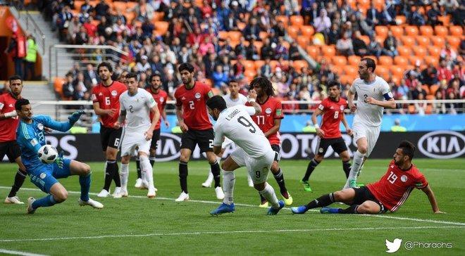 Єгипет – Уругвай: голкіпер Ель-Шенаві – найкращий гравець матчу