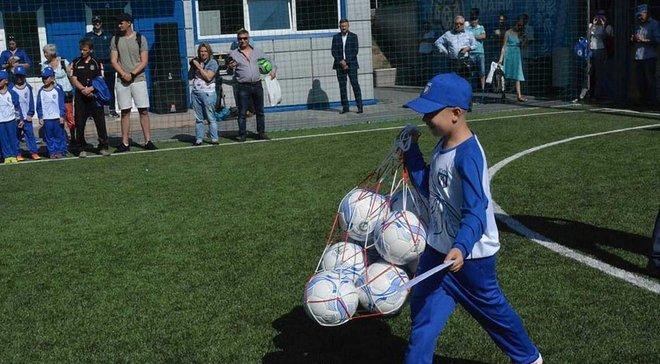 Поля НКТ ім. Баннікова стали справжньою спортивною домівкою для дитячих команд та ветеранів АТО