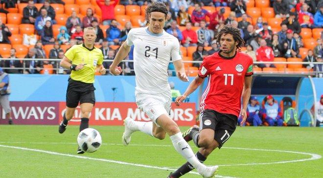 Кавані:  У матчі з Єгиптом все пройшло, як ми і планували
