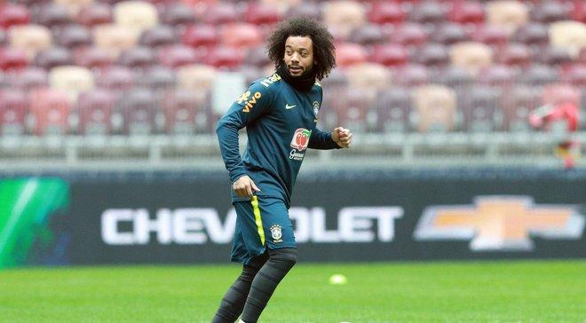 ЧМ-2018: Марсело исполнил фантастический трюк на тренировке сборной Бразилии