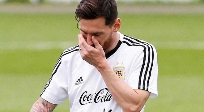 Мессі не впевнений у своєму майбутньому у збірній Аргентини