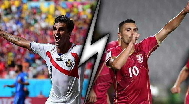 Коста-Рика – Сербия: анонс матча ЧМ-2018