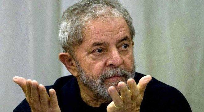 Екс-президент Бразилії буде коментувати матчі ЧС-2018 із в'язниці