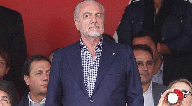 Президент Наполи подтвердил информацию о трансферах Руиса и Лайнера