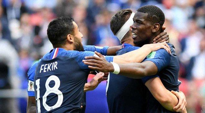 Франция – Австралия: матч посетила 41 тысяча болельщиков